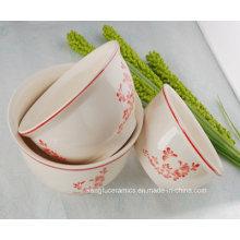 Venda quente personalizado tigela cerâmica