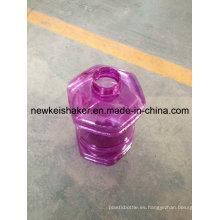2.3L botella de coctelera del jarro del agua del plástico de la insignia de encargo Joyshaker