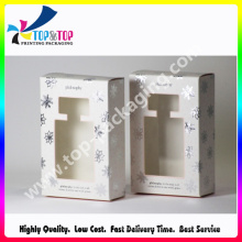 Recycled Paper Custom Cosmetic Kits Packaging Rigid Boxes