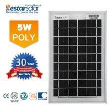 5w mini solar panels roof home