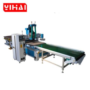 Solid MDF plywood furniture ATC cnc engraving machine