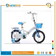 Beautiful 16 inch girls folding bike