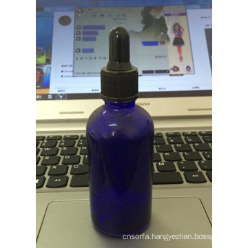 Series of High Quality Cobalt Glass Dropper Bottle