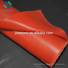 силиконовым покрытием стеклоткани sleeving