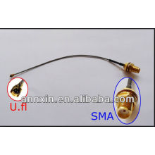 PCI U.FL para SMA fêmea Antena WiFi Pigtail Cabo IPX para SMA