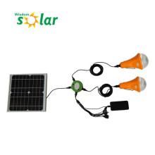 2014 neueste Solar Home Beleuchtung Lampe LED, handliche Lampe Überfall Glühbirne