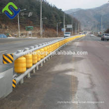 Traffic Road safety highway guardrail roller barrier