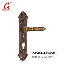 Door Hardware Pull Plate Carbinet Panel Handle (ZA983)