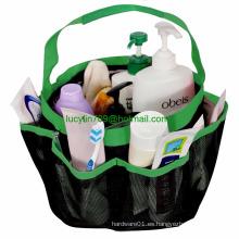 Mesh Shower Caddy Organizer Tote for Bathroom   Dorm and Gym Shower Caddy Bag