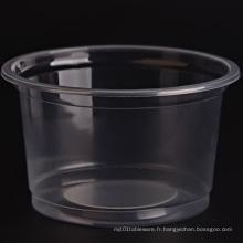 Bol en plastique jetable de haute qualité