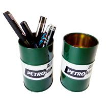 Papeterie de bureau de forme ronde pour le porte-stylo
