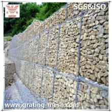 PVC-beschichtet / verzinkt / Stahlgewebe / Gabionen-Box für Stützmauern