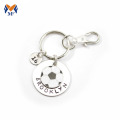 Personalized stainless steel engraved ball chain keychains