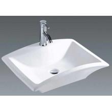 Китай ванной керамической прямоугольной столешницей бассейна (7096)