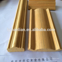 India market recon beeding teak wood strips embossed wood mouldings beeding