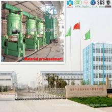 linha de produção inteira em 10T / D-1000T / D Projeto de produção de óleo de milho contínuo e automático