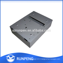 Boîtiers électroniques de boîte en aluminium de poinçon de commande numérique par ordinateur