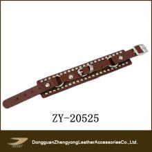 Fashion Unisex Studed Leather Bracelet