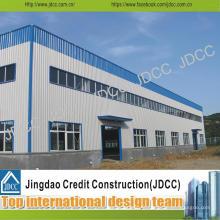 La qualité et le bâtiment rapide d'installation de structure métallique construisent l'entrepôt