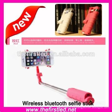 Venda al por mayor 2015 el nuevo palillo sin hilos del selfie con el bluetooth
