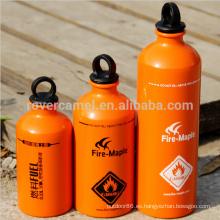 Arce al aire libre Portable gasolina Diesel gasolina botella combustible gasolina botella combustible almacenamiento botella de fuego