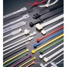 lazo de cable plástico de nylon cierre del uno mismo