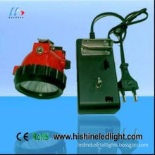 Super Bright Led Mining Headlamps With 2.8ah Lithium Battery, Ac130 V ,4.2v / 500ma