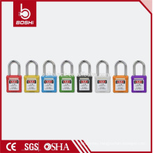 CE Certificated OEM Industrial Safety Padlock 38mm Steel Shackle Padlock(BD-G01)