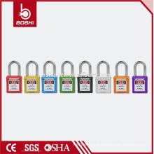Certificado Certificado OEM cadeado de segurança industrial cadeado de aço inoxidável de 38 mm cadeado (BD-G01)