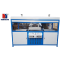 Semi auto double-station blister vakum membentuk mesin