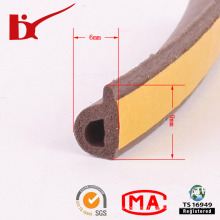 Durable Adhesive Backed Foam Rubber Strips