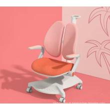 Cadeiras de estudo com cadeira elevatória de altura para criança de 3-18 anos