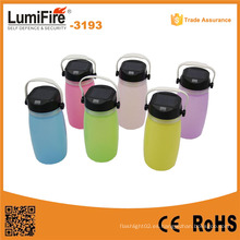 3193 Linterna solar impermeable Linterna de camping al aire libre colorido