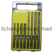 8PCS Drill Bit Set with Plastic Case