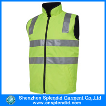 Cheap Wholesale Men Hi Vis Reflective Safety Work Vest