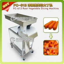 Découpeuse FC-613 de coupeur de gros cube automatique végétale d'acier inoxydable