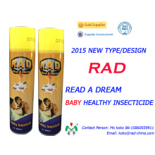 400ml 600ml New Type Indoor Baby Healthy Insecticide Spray Killer