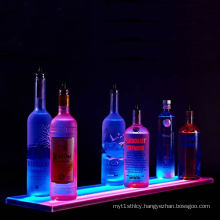 Double Wide LED Lighted Acrylic Liquor Bottle Display