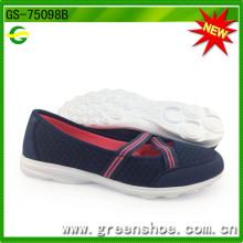 Sapatas de venda quentes das senhoras dos estilos com preço competitivo GS-75098