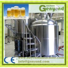 Máquina de procesamiento de cervezas completa