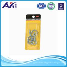 4PCS of Zinc Plated Screw Hook Open Type