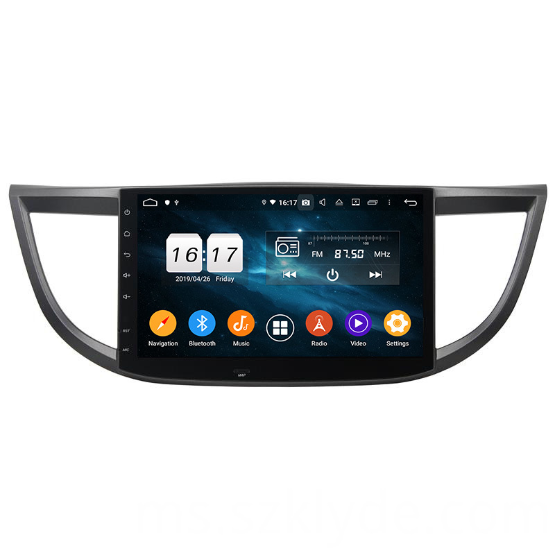 CRV 2012-2015 dvd player touch screen