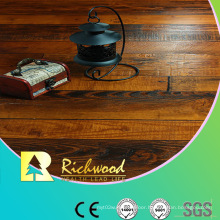 Commercial12.3mm AC4 Embossed V-Grooved Waxed Edged Laminate Floor
