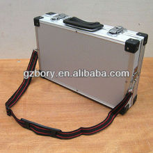 Aluminium Carry Case W Foam Suit Laptop, Camcorder, for iPad