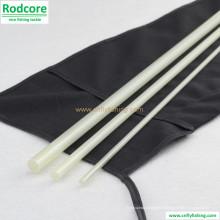 7FT6 in 4wt Clear White Fibre de verre Fly Rod Blank