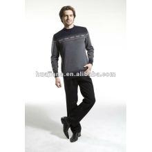 Stoll Maschine Jacquard Herren Winter Pullover