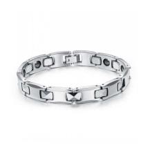 2015 Christmas gift high polish Tungsten bracelet magnetic energy bracelet