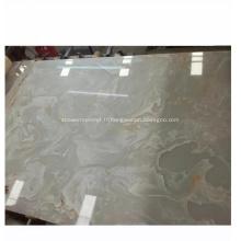 Décoration Faux Pierre Onyx Artificiel Blanc
