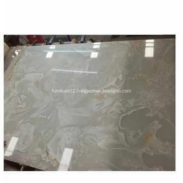 Decoration Faux Stone White Artificial Onyx