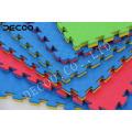 DECOO high quality eva foam puzzle mat, indoor sports taekwonde karate mat